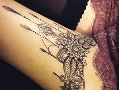 35 Trendy Tattoo Mandala Bein Tatoo section of information related to. Tattoo Bein Frau, Tattoo Motive Frau, Tattoos Bein, Tatoos, Tattoos To Cover Scars, Cover Tattoo, Cool Tattoos For Girls, Tattoos For Women Small, Forearm Tattoos