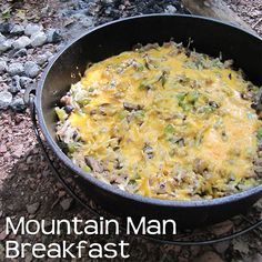 Mountain Man Breakfast In A Dutch Oven - 50 Campfires