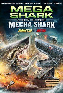 Mega Shark vs. Mecha Shark (2014) Poster