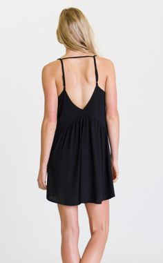 The RVCA Whimsy dress is a favorite everyday dress