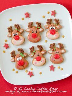 Cookies Christmas Ideas Xmas Holidays Ideas For 2019 Christmas Sugar Cookies, Christmas Sweets, Noel Christmas, Christmas Goodies, Holiday Cookies, Christmas Baking, Christmas Cookie Cutters, Christmas Ideas, Iced Cookies