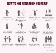 Dont be hard on yourself