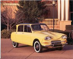 1963 Citroen Ami 6  Maintenance/restoration of old/vintage vehicles: the material for new cogs/casters/gears/pads could be cast polyamide which I (Cast polyamide) can produce. My contact: tatjana.alic@windowslive.com