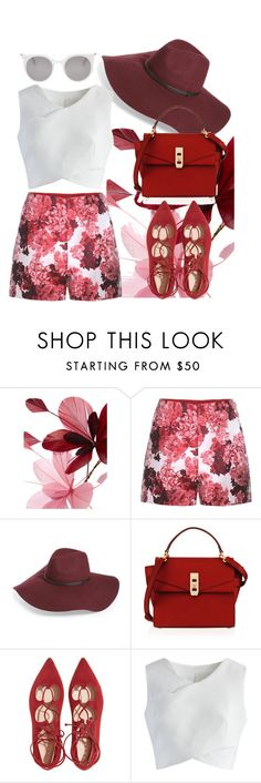 """""""Summer time"""" by chalotteleah on Polyvore featuring Valentino, Moncler Gamme Rouge, Halogen, Henri Bendel, Chicwish and Alexander McQueen"""