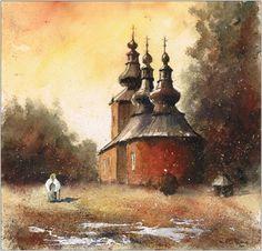 Orthodox church in Blechnarka