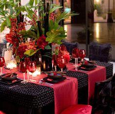 decoração preto vermelho e branco (22)