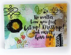 Susanne Rose - Papierkleckse: Mixed Media Postcards