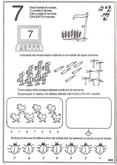 Archivo de álbumes Preschool Worksheets, Preschool Activities, Pre School, Kindergarten, Homeschool, Parenting, Album, Kids, Math Activities