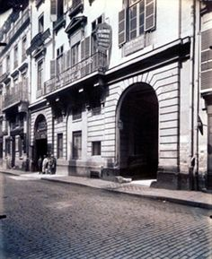 Hotel du president Rosambo Rue de Bondy 62 et Entree par la rue Taylor (10e) By Eugène Atget ,1909