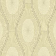 Sample Malabar Wallpaper in Yellow Gold by Ronald Redding for York Wallcoverings