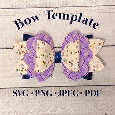 Best 12 Scalloped Bow Template: Digital File, SVG Bow Template, Faux Leather Bow, Baby Glitter Bows, Girl Ac – Page 823244006870207629 Diy Leather Bows, Baby Glitter, Bow Template, Bow Pattern, Making Hair Bows, Bow Making, Baby Hair Bows, Bow Design, Design Ideas