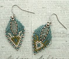 Russian Leaf Earrings #3 Samples