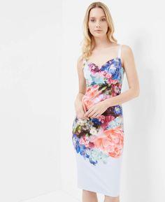 Focus Bouquet midi dress