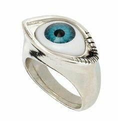 New Detailed Evil Eye Lucky Gold Rings