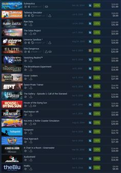 This weekend Steam is offering a VR weekend sale ending Monday at 10 AM Pacific Time with up to 80% off Steam VR titles.