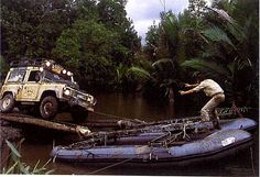 Adventure Time! // Camel Trophy / Land Rover
