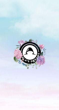 Carla's dreams logo wallpaper floral