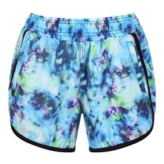 Tikiboo's Lagoon Short Loose Fit Workout Pants Offer A Classic Athletic Look And Fit. In A Beautiful Oceanic Tie-Dye Pattern, These Blue Sports Shorts Are Ideal For Active Days As Well As Rest Days. Sport Shorts, Running Shorts, Workout Shorts, Athletic Looks, Rest Days, Tie Dye Patterns, Loose Fit, Zip Ups, Underwear
