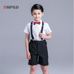 New 4pcs/set fashion boys shirts children clothing formal white shirt and black trousers student piano performance party clothes. Yesterday's price: US $48.00 (39.52 EUR). Today's price: US $24.00 (19.76 EUR). Discount: 50%.