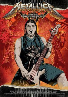 Robert ~ Metallica Show Post