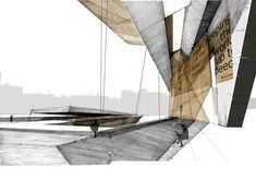 architectural rendering copic - Google Search