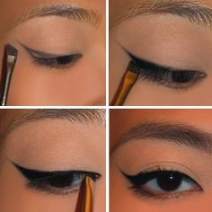 Cat Eyeliner Easy Tutorial