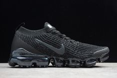 2019 Nike Air VaporMax Flyknit 3.0 White Black Volt Red For Sale