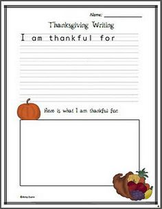 thanksgiving activities- could laminate and send home as placemat.