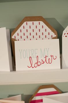 National Stationery Show 2012, Part 5 « Southern Weddings Magazine. I think this card and the envelope enclosure are soooo cute