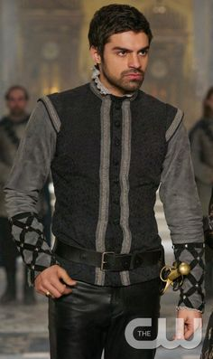 "Reign -- ""Tasting Revenge"" -- Image Number: RE216a_0030.jpg -- Pictured: Sean Teale as Conde -- Photo: Sven Frenzel/The CW -- © 2015 The CW Network, LLC. All rights reserved.pn"