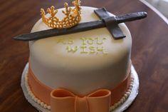 Princess Bride Anniversary Cake