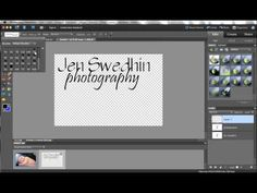 A tutorial showing how to create and customize a watermark in Photoshop Elements by turning any design into a brush that can be stamped anywhere on an image.  Fully customizable!  More tutorials can be found at www.jenswedhinphotography.com/tutorials