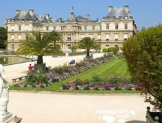 Walk to the gorgeous Luxembourg Gardens in Paris