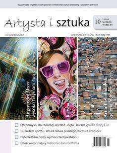 """Niedawno była u nas wystawa Justyny Kisielewicz teraz jest piękna okładka Nowy, 10 numer magazynu """"Artysta i Sztuka"""" już jest w sprzedaży! Znajdziecie go w Empikach na terenie całego kraju i na stronie internetowej: http://artystaisztuka.pl/sklep.html. Zapraszamy do lektury  !"""