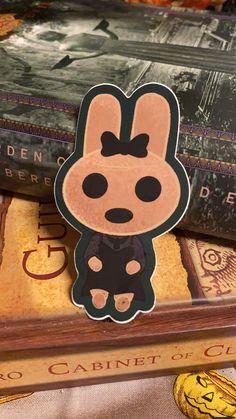 Gothic Coco Bunny Rabbit Halloween Fanart Vinyl Sticker