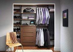 Top 100 Best Closet Designs For Men - Part Two Diy Walk In Closet, Walk In Closet Design, Bedroom Closet Design, Closet Designs, Master Closet, Bedroom Closets, Master Bedroom, Men Closet, Modern Bedroom