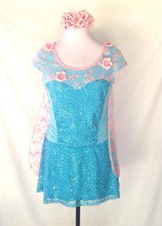 Limited Edition; Frozen Fever Inspired complete running outfit on Etsy, $150.00