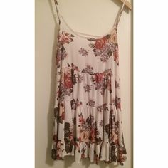 Rare Brandy floral jada Worn once, perfect condition | cotton | No Trades Brandy Melville Dresses