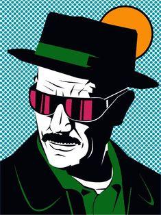 Resultado de imagen de heisenberg pop art