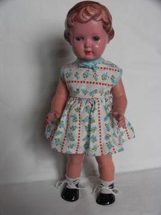 Original-Schildkroet-Puppe-Ursula-T36-Ursel-50er-Jahre-Sammlerstueck