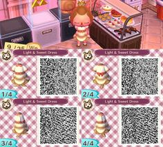 Animal Crossing: New Leaf - Light and Sweet Dress by coffeetalks.deviantart.com on @deviantART