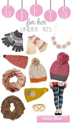 #gifts under $25