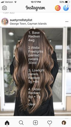 Love Hair, Gorgeous Hair, Hair Color Formulas, Redken Color Formulas, Redken Hair Color, Redken Hair Products, Celebrity Hair Colors, Balayage Ombré, Hair Color Techniques