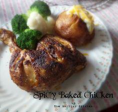 Spicy Baked Chickenfrom The English Kitchen