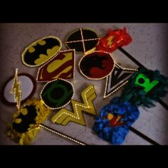 The justice league Justice League, Diy Crafts, Hats, Creative, Fashion, Painting, Moda, Sombreros, Make Your Own