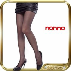 55eaa6f2ba3 NEW   non-no   BLACK OL Stockings Hosiery Pantyhose Lingerie 6200 Stockings