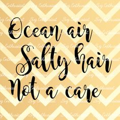 Ocean air Salty hair Not a care SVG, Summer SVG cut file, Sun svg, Cricut, Dxf, PNG, Vinyl, Eps, Cut Files, Clip Art, Vector, Quote, Sayings by SVGEnthusiast on Etsy