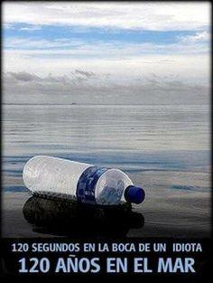 Hagamos conciencia! #Ecologia cuidemos al medio ambiente