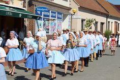 folk costume - Kroj - Jižní Morava - Vracov - pracovní kroj - Dožínky 2016