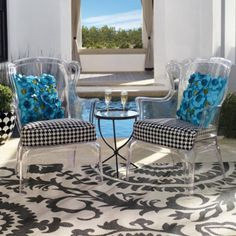 These chairs are to die for!! | Fresh & Fab Outdoor Pad